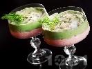Снимка на рецепта Нежен мус от авокадо и рулца от раци